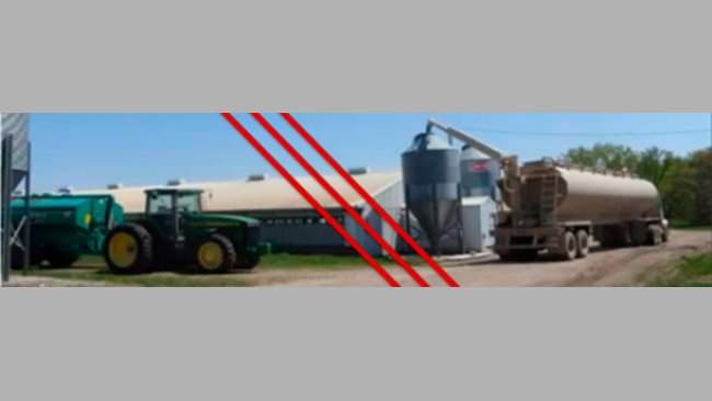 Для профилактики ВЭДС необходимо разъединение корма и сточных вод