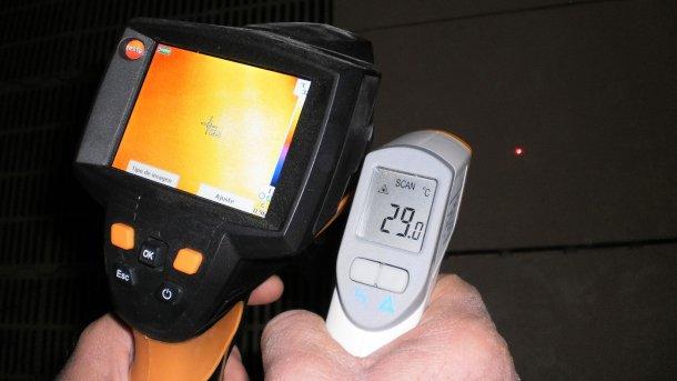 Термографические камеры способны измерить температуру по всему изображению с разрешением, которое эквивалентно использованию 19200 инфракрасных термометров одновременно.