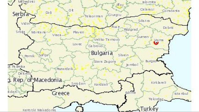 АЧС в Болгарии