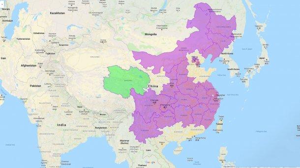 Цинхай - новая провинция, пораженная АЧС