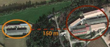 <p>Изображение 1. Ферма с высоты птичьего полета.</p>