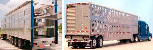 Фото 3. Свиновоз в Европе. Источник: NEWNION и Фото 4. Свиновоз в Северной Америке. Источник: Illinois Truck Enforcement Association